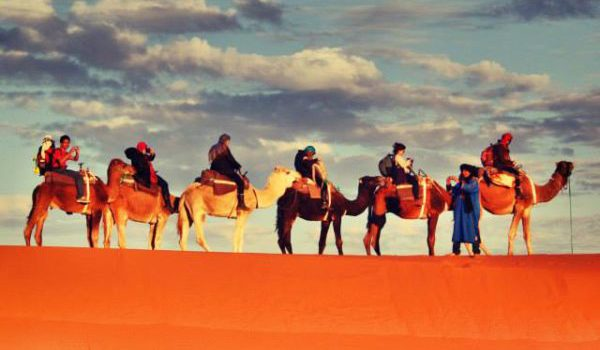 Viagem com destino a Marrocos