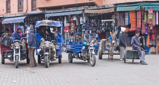 Tipos de transporte em Marrocos